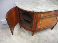 Dutch Marble Top Burr Elm Commode / Chest (10 of 13)
