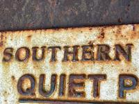 Large Heavy Rusted Cast Iron Railway Plaque Sign Train Notice (14 of 25)