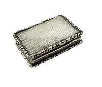 Antique William IV Sterling Silver Vinaigrette 1830 (3 of 10)