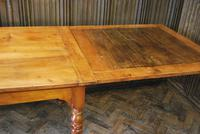 Large Extending Cherrywood Farmhouse Table (5 of 12)