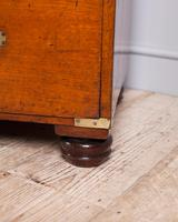 19th Century Mahogany Campaign Chest with Inset Brass Handles (9 of 10)