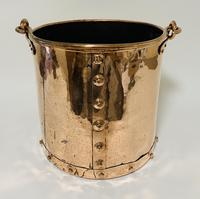Antique Riveted Copper Bucket (6 of 14)