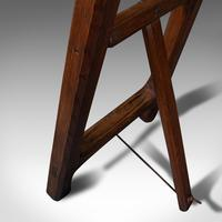 Antique Artist's Easel, English, Picture Stand, Arts & Crafts, Victorian c.1900 (12 of 12)