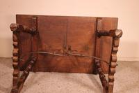 Spanish Table from the 16th Century in Walnut (6 of 13)