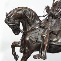 Italian Bronze Equestrian Sculpture of Emanuele Filiberto, Duke of Savoia, by Baron Carlo Marochetti (8 of 17)