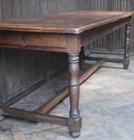 French Oak Kitchen Farmhouse Table (7 of 9)
