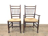 Set of Eight Spindle Back Chairs (3 of 10)