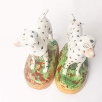 Pair Staffordshire Flatback Dalmatians (6 of 7)