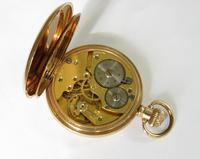 Vintage 1920s Bernex stem winding pocket watch (4 of 5)