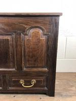 19th Century Welsh Oak Coffer Bach (M-550) (8 of 9)
