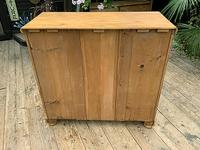 Superb & Large Old Pine Chest of Drawer / Sideboard (8 of 8)