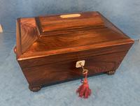 Regency Sarcophagus Rosewood Jewellery Box (11 of 15)