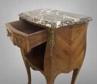 French Marquetry Bedside Table Louis XVI Style (8 of 10)