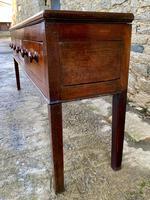 Large Antique Elm Dresser Base (4 of 21)