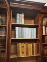 Victorian Mahogany Breakfront Cabinet Bookcase (3 of 19)