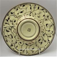 Gordon Forsyth, Copper Lustre Earthenware Shallow Footed Dish in Hispano Moresque Style c.1930 (5 of 8)