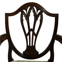 Pair of Georgian Carver Dining Chairs (5 of 7)