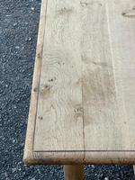 Rustic Bleached Oak Farmhouse Dining Table (7 of 25)