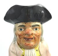 Good Staffordshire Pearlware Toby Jug Early 19th Century (2 of 12)