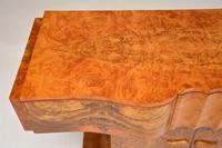 Art Deco Burr Walnut Console Table by Hille (11 of 12)