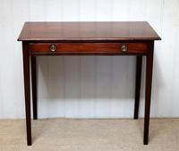 Early 19th Century Mahogany Side Table c.1820 (6 of 10)