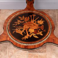 Fine Quality French Marquetry & Ormolu Mounted Occasional Table (21 of 24)