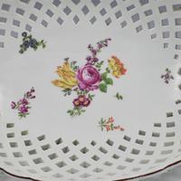 Fine Large Chelsea Red Anchor Porcelain Basket c.1750-1758 (3 of 18)