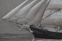 American Clipper White Squall 1861 Pierhead Watercolour Painting (6 of 9)