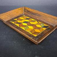 Small Parquetry Inlaid Tray (3 of 5)