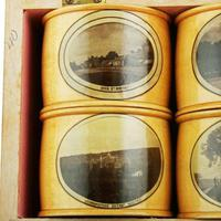 Set of Mauchline Ware Napkin Rings (3 of 8)