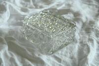 Victorian Hobnail Cut Glass Lidded Pot (7 of 12)