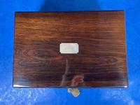 Victorian Rosewood Jewellery Box (10 of 10)