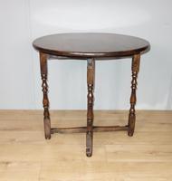 Folding Oak Victorian Table (6 of 6)
