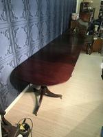 Mahogany Triple Pedestal Dining Table (3 of 10)