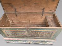 Fabulous 18th Century Himalayan Wooden Dowry / Marriage Chest (4 of 5)