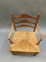 Early 19th Century Country Chair, stamped (10 of 10)