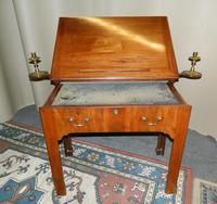 Chippendale period mahogany architect's table (4 of 9)