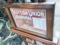 Original 1902  Vintage Framed Poster & Calendar,  Scottish Union & National Insurance Company (5 of 11)