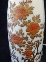 Excellent Japanese Meiji Period Lacquer on Porcelain Vase- Converted to a Lamp (3 of 7)