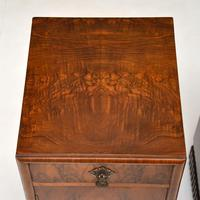 Pair of Art Deco Burr Walnut Bedside Cabinets (3 of 12)