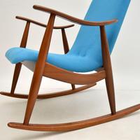 Vintage Dutch Rocking Chair by Louis Van Teefelen (6 of 8)