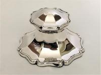 Handsome George V Silver Inkwell (8 of 8)