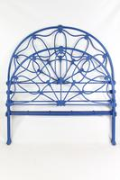 Antique Victorian All Iron Double Bed (2 of 13)