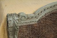 Magnificent French Caned Kings Size Marriage Bed (4 of 13)