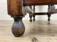 Antique Oak Gateleg Table (2 of 11)