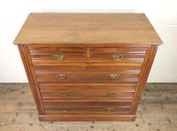Antique Edwardian Satinwood Chest of Drawers (3 of 10)