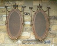 Good Pair of Regency Revival Mirrors after Robert Adam (8 of 8)