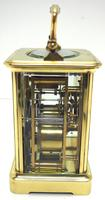 Large Classic Antique French 8-day Gong Striking Carriage Clock c.1880 (8 of 10)