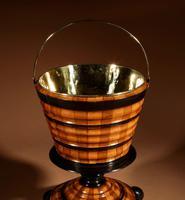 Dutch Coopered Tea Stove Bucket / Peat Bucket / Jardinière (2 of 7)