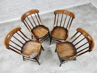 Set of 4 Windsor Country Kitchen Chairs (3 of 6)